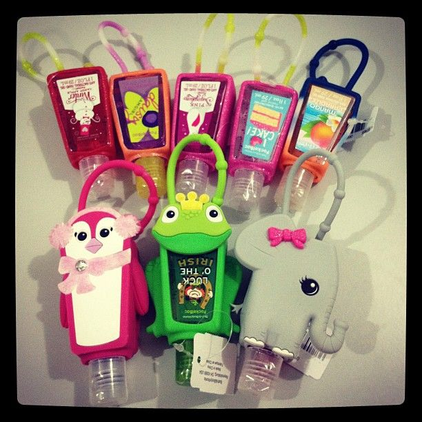 Pugicorn Light Up Pocketbac Holder Hand Sanitizer Holder Hand