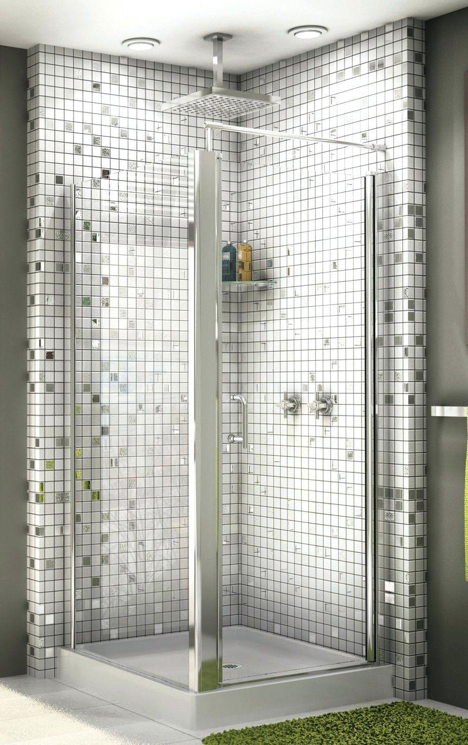 Tiles:Glass Subway Tile Shower Ideas Glass Tile Shower Wall Full ...