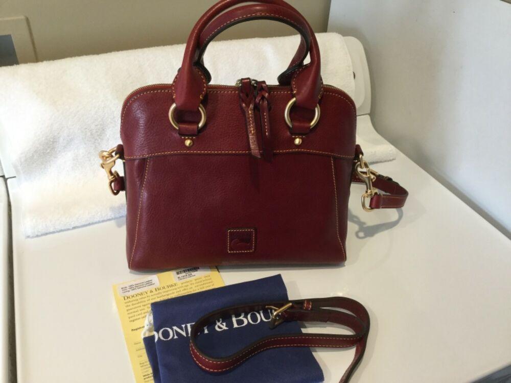0bcef8247 DOONEY & BOURKE BORDEAUX FLORENTINE LEATHER CAMERON SATCHEL CROSSBODY BAG  NWOT #fashion #clothing #shoes #accessories #womensbagshandbags (ebay link)