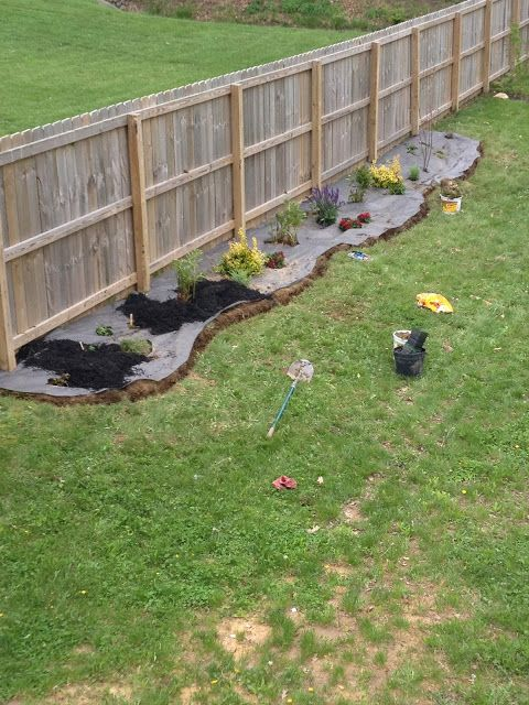 How To Install New Landscaping Flower Bed Emily Ann 400 x 300