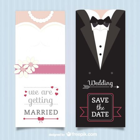 40_Free_Vector_Wedding_Invitations_by_Saltaalavista_Blog Design - formal handmade invitation cards