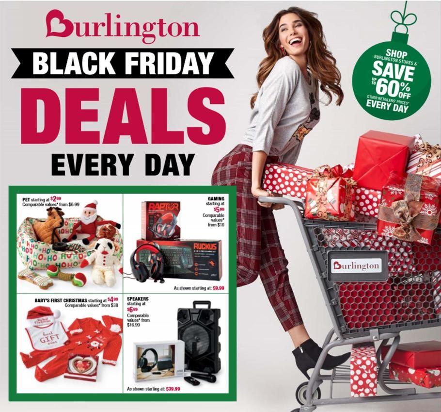 Burlington Coat Factory Black Friday Ad Scan, Deals and