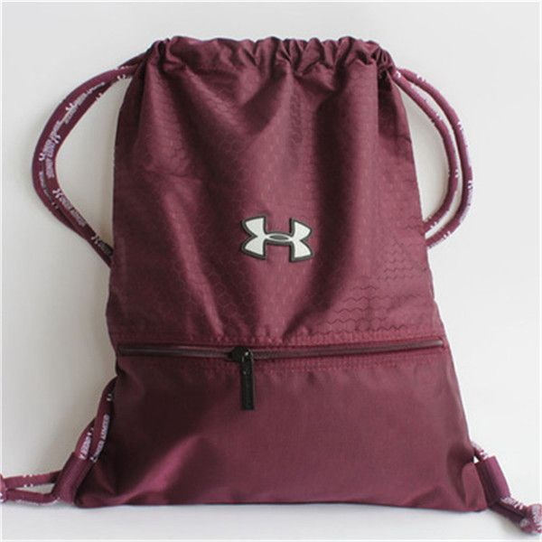 Under Armour Pinkadellic Hustle Sackpack ($23) ❤ liked on ...