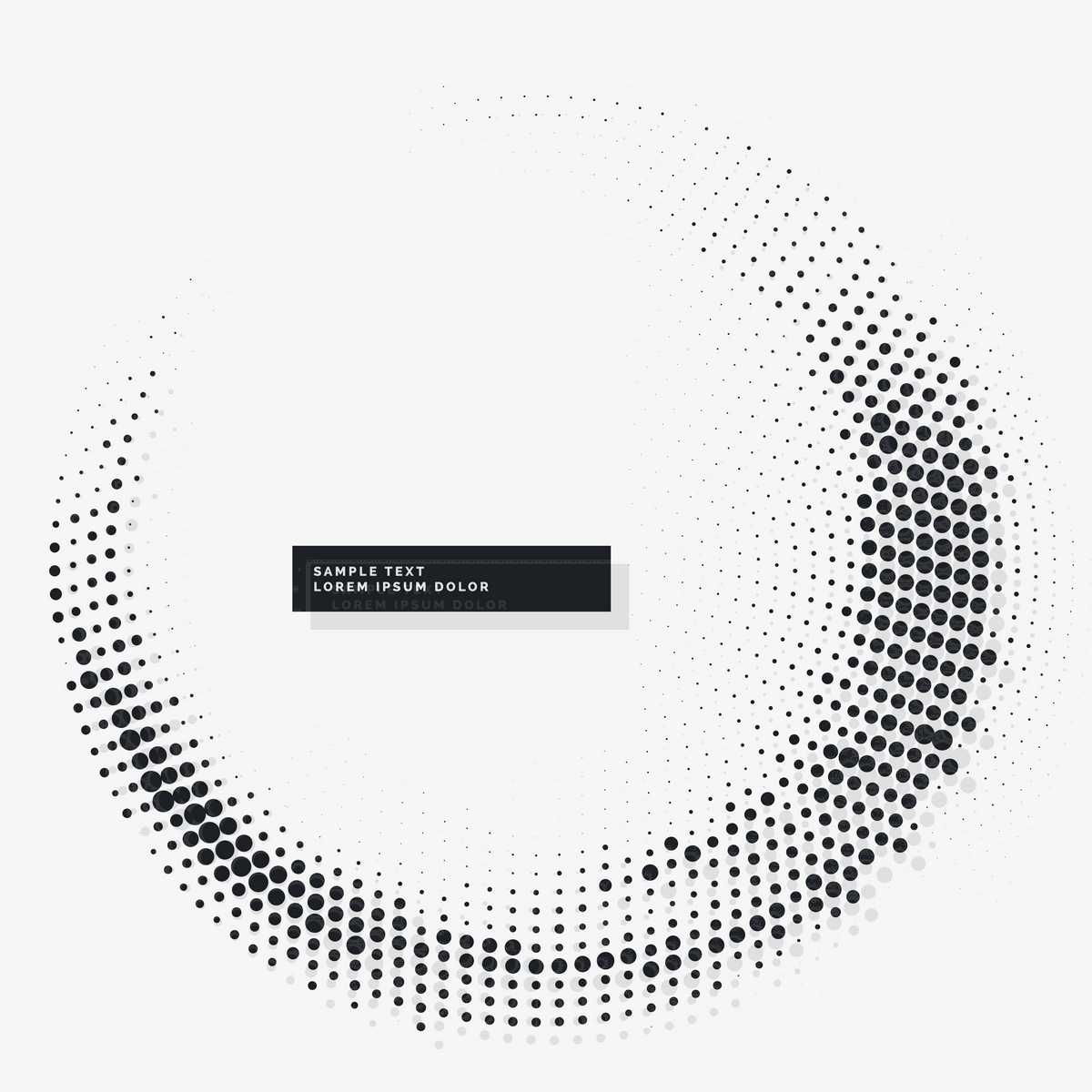 Circular White Background With Dots - FREE | Abstracts | Pinterest