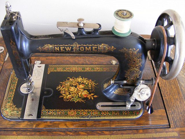 New Home Antique Treadle Sewing Machine Antique Sewing Machines Impressive Antique New Home Treadle Sewing Machine Value