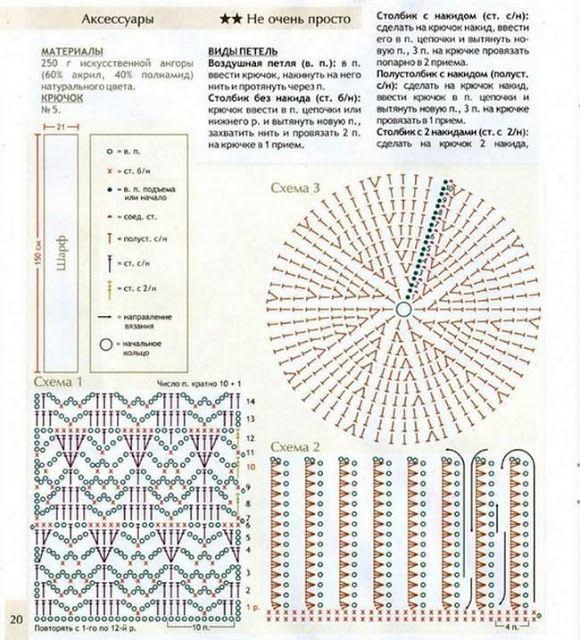 Patrón #640: Gorro y Bufanda a Juego de Crochet ~ CTejidas [Crochet ...