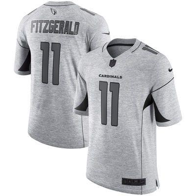 Larry Fitzgerald Arizona Cardinals Nike Gridiron Gray II Limited Jersey -  Gray - Fanatics.com 02d2b094e