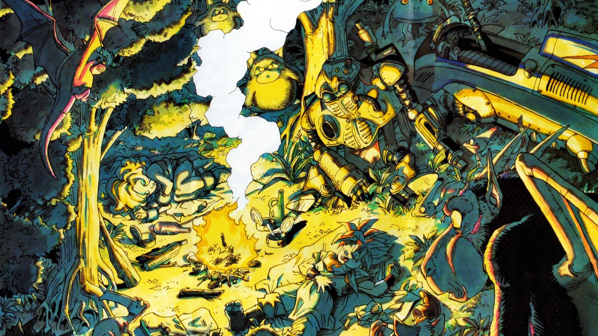 Chrono Trigger Chrono Trigger Retro Games Wallpaper Game Art