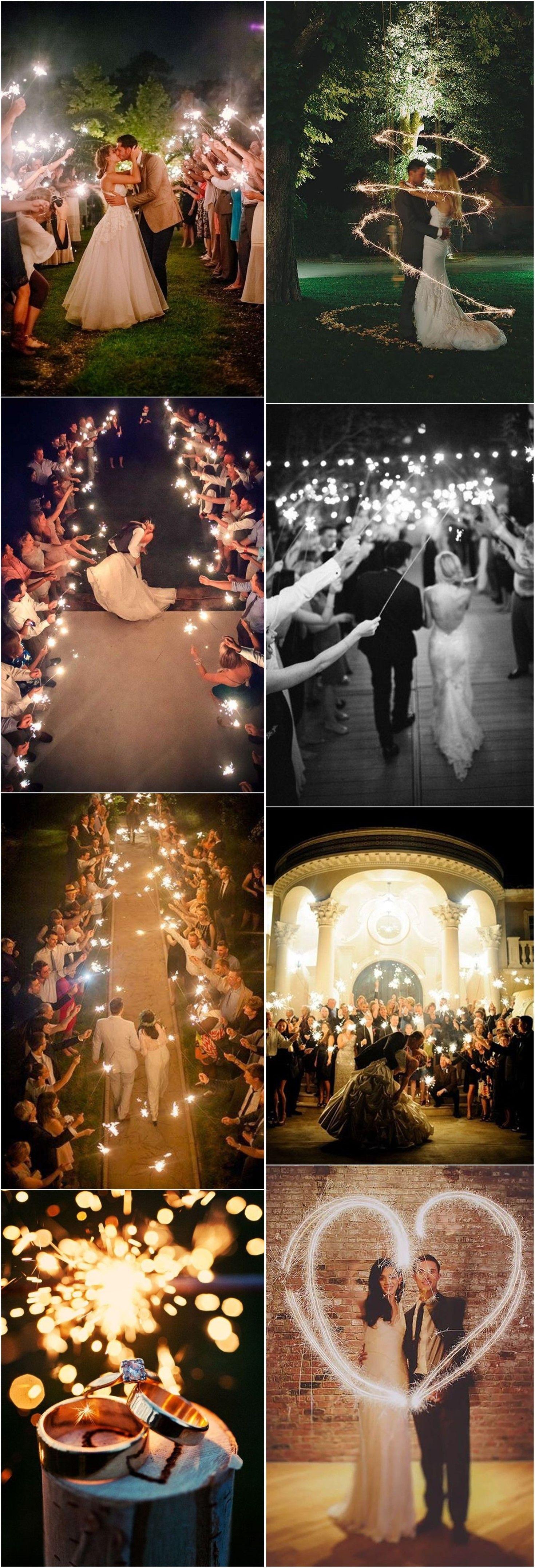 20 Magical Wedding Sparkler Send Off Ideas For Your Wedding Weddinginclude Magical Wedding Wedding Sparklers Wedding Photography