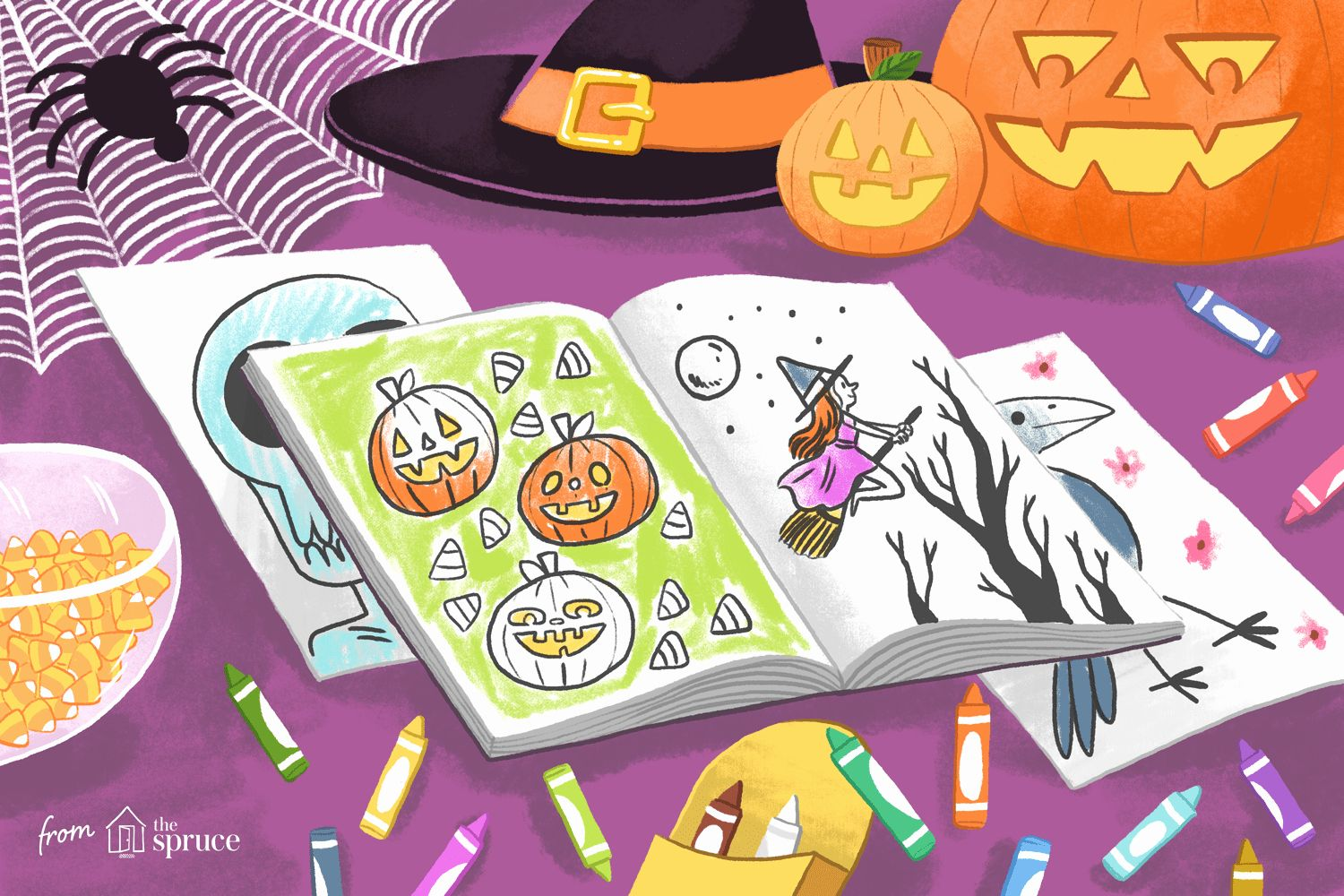 The Drawing Book For Kids Woo Jr Awesome Halloween