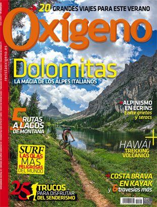 Revista Oxígeno nº66.  http://www.revistaoxigeno.es/despedimos-la-primavera-con-oxigeno-66/