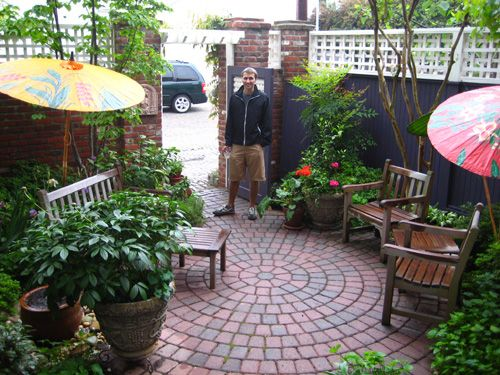 Urban Patio Gardens Good Inspiration
