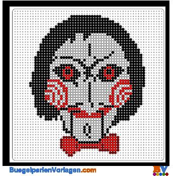 The Joker Perler Bead Pattern Perlenmuster Bugelperlen Joker