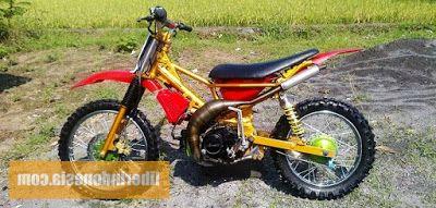 Modifikasi Motor Bebek Jadi Trail Motor Trail Motor Bebek