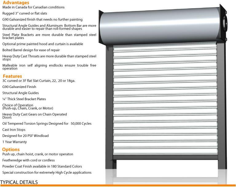 ... Rolling Door Wilcox Door Offers A Complete Line Of Rolling Steel Doors:    Service Door Industries   Wayne Dalton/Kinnear   Cookson Doors   Cornell  Doors ...