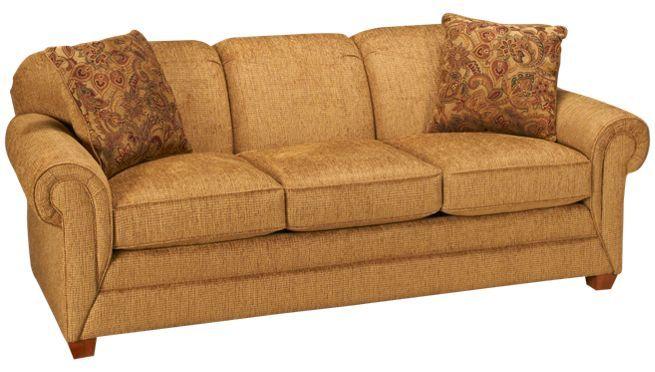 Jordan S Furniture Sleeper Sofa.Craftmaster Exposed Leg Queen Sleeper Sofa Jordan S