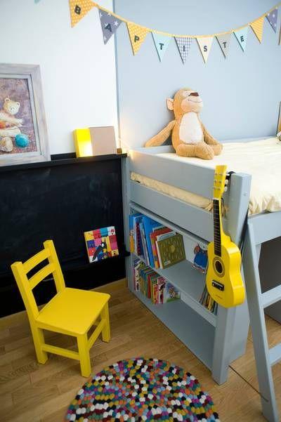 miniature Chambre jaune de garçon 5 ans, Paris, Delphine Guyart ...