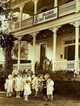 Orlando Day Nursery Ociation In 1928 The Kiwanis Club Of Took Over Funding