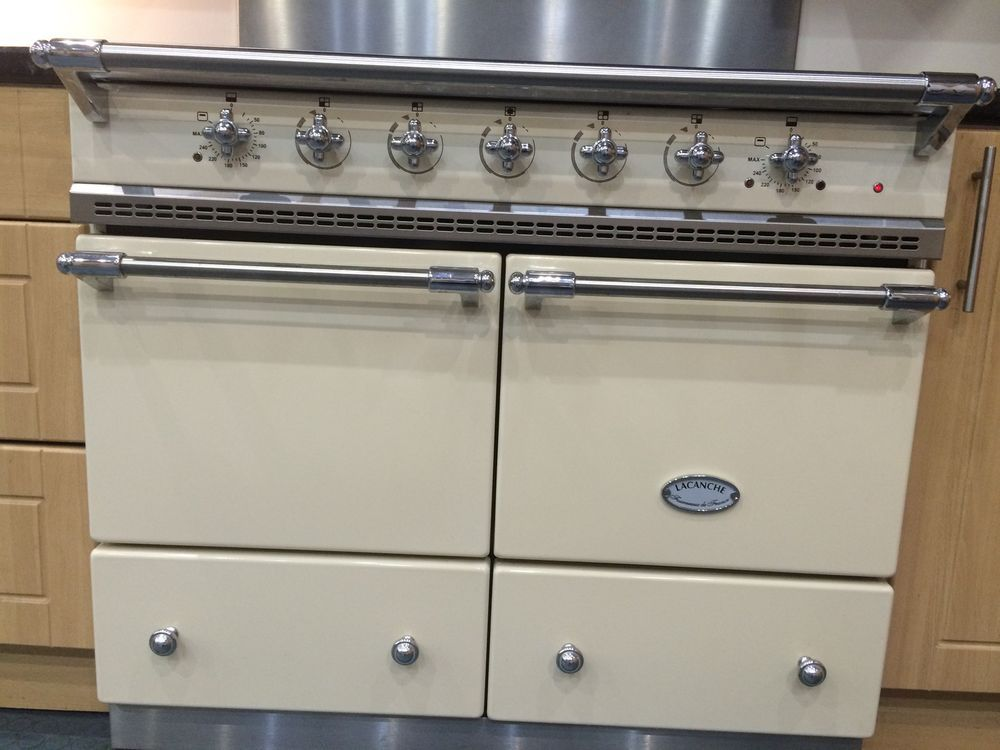 Lacanche Classic Cluny - Induction Range Cooker - English Cream ...
