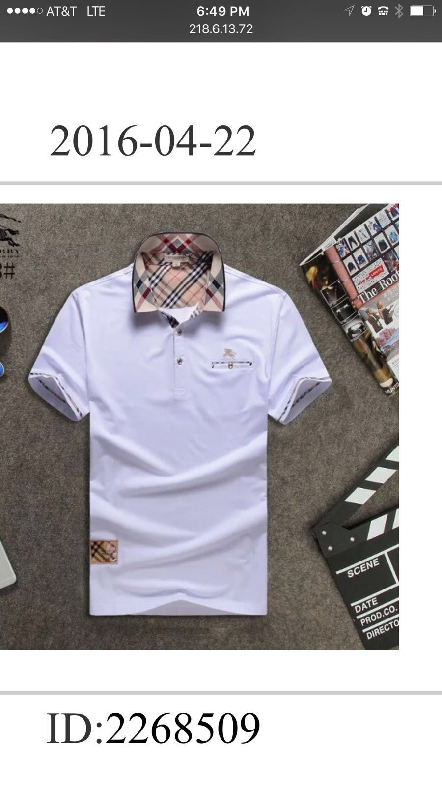 ae3c066b071e Burberry t shirt, summer men t shirt, Men clothing ,   Polo Collars ...