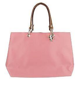 Designer Handbags Clearance At Qvc Francesca Visconti S Signature Bag W Leather Shoulder Straps 24 96 List 00