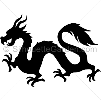 Chinese Dragon Svg Dxf Png Eps Jpg Big Size 300 Dpi Etsy In 2021 Chinese Dragon Art Chinese Dragon Dragon Tattoo For Women