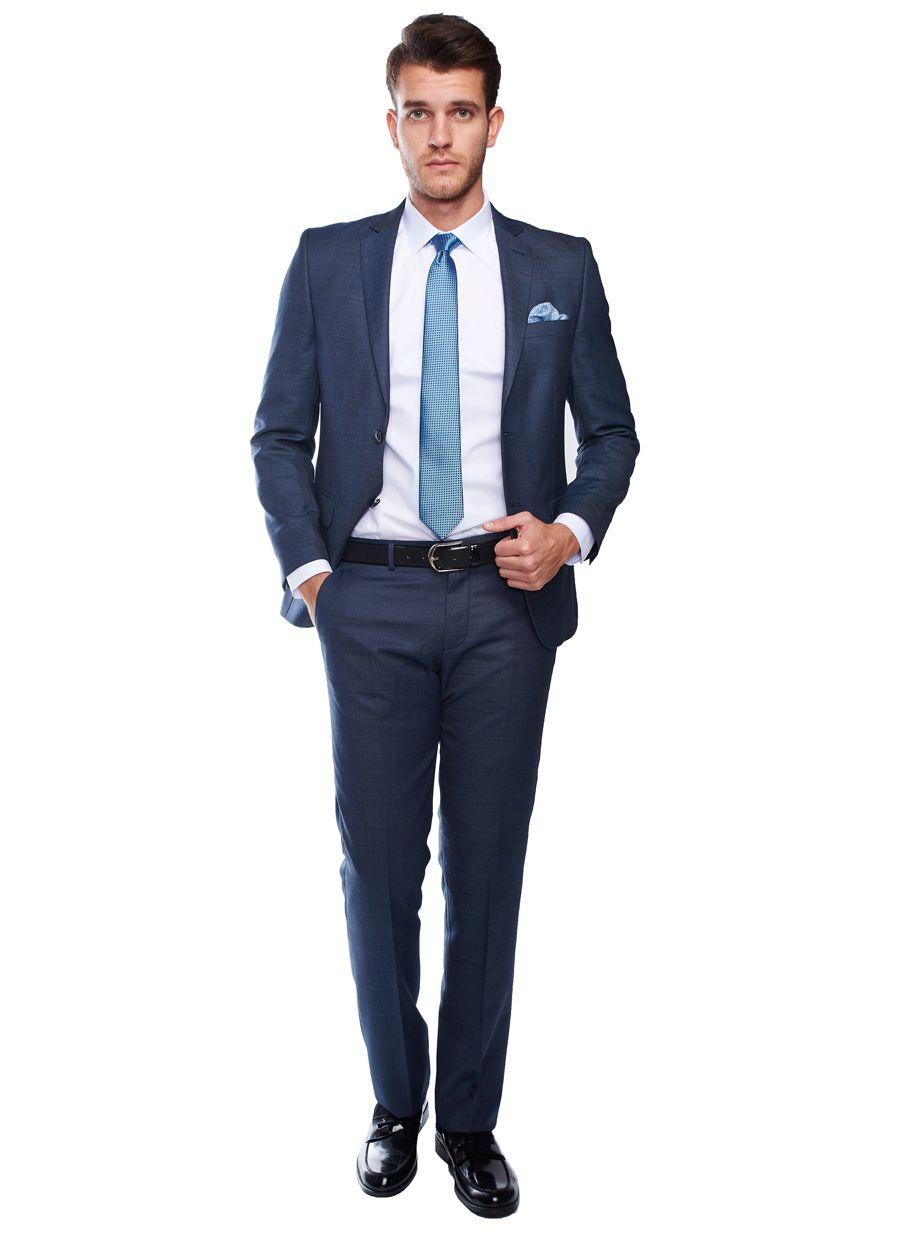 4702a09b9647e Slim Fit Desenli Takım Elbise - Altınyıldız Classics | damatlık ...