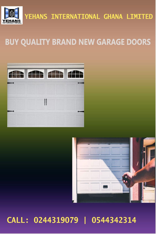 Buy Quality Brand New Garage Doors In 2020 Garage Doors Burglar Proof Doors