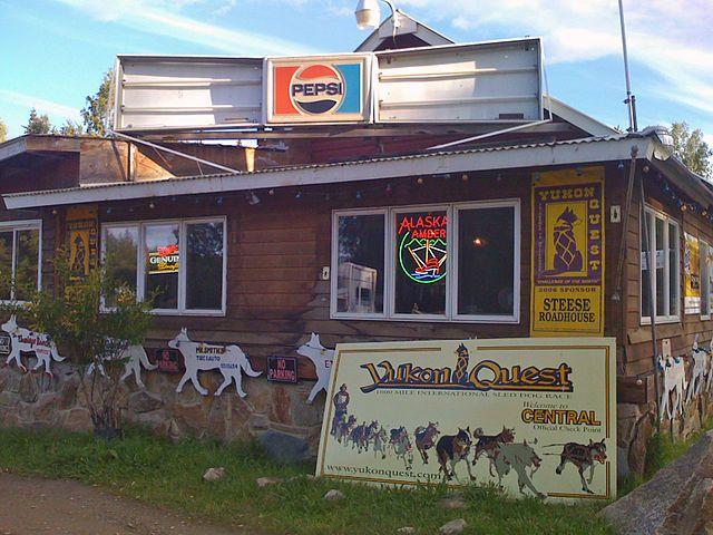 Steese Roadhouse, Central, Alaska - http://greatalaskanhomes.com/towns/central.html