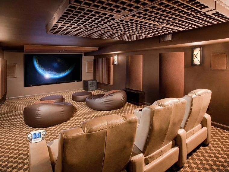 Come arredare una taverna sala cinema bed room ideas home