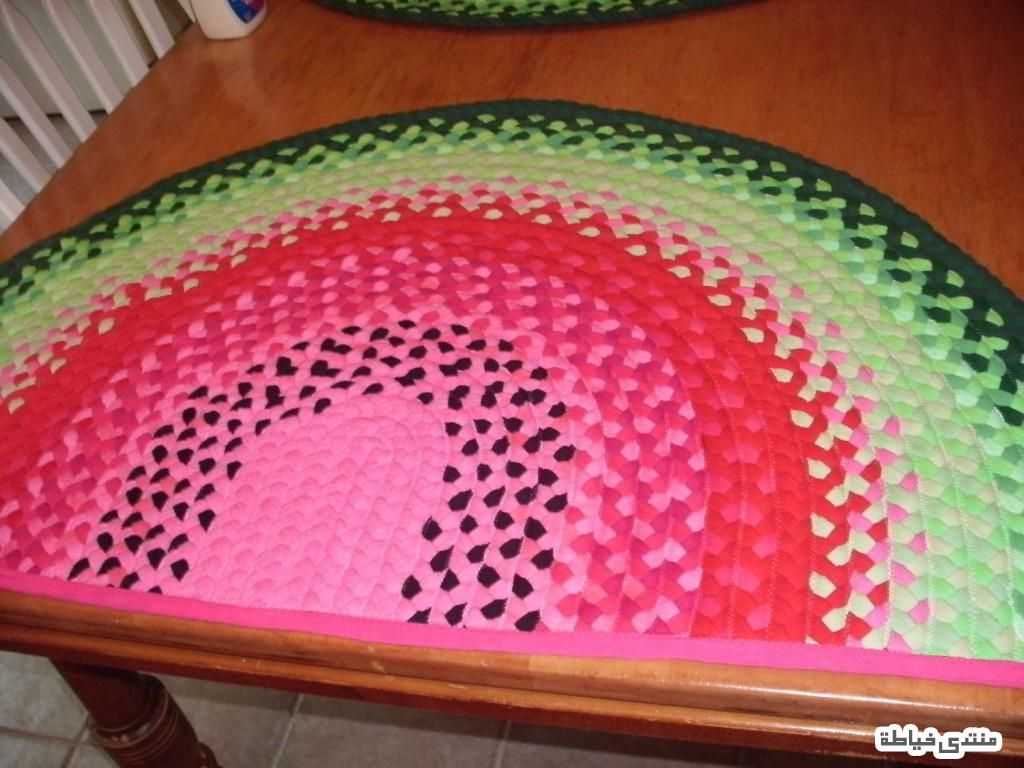 سجادة متناسقة الالوان خيطي من بقايا القماش افكار خياطة Outdoor Blanket Beach Mat Mats