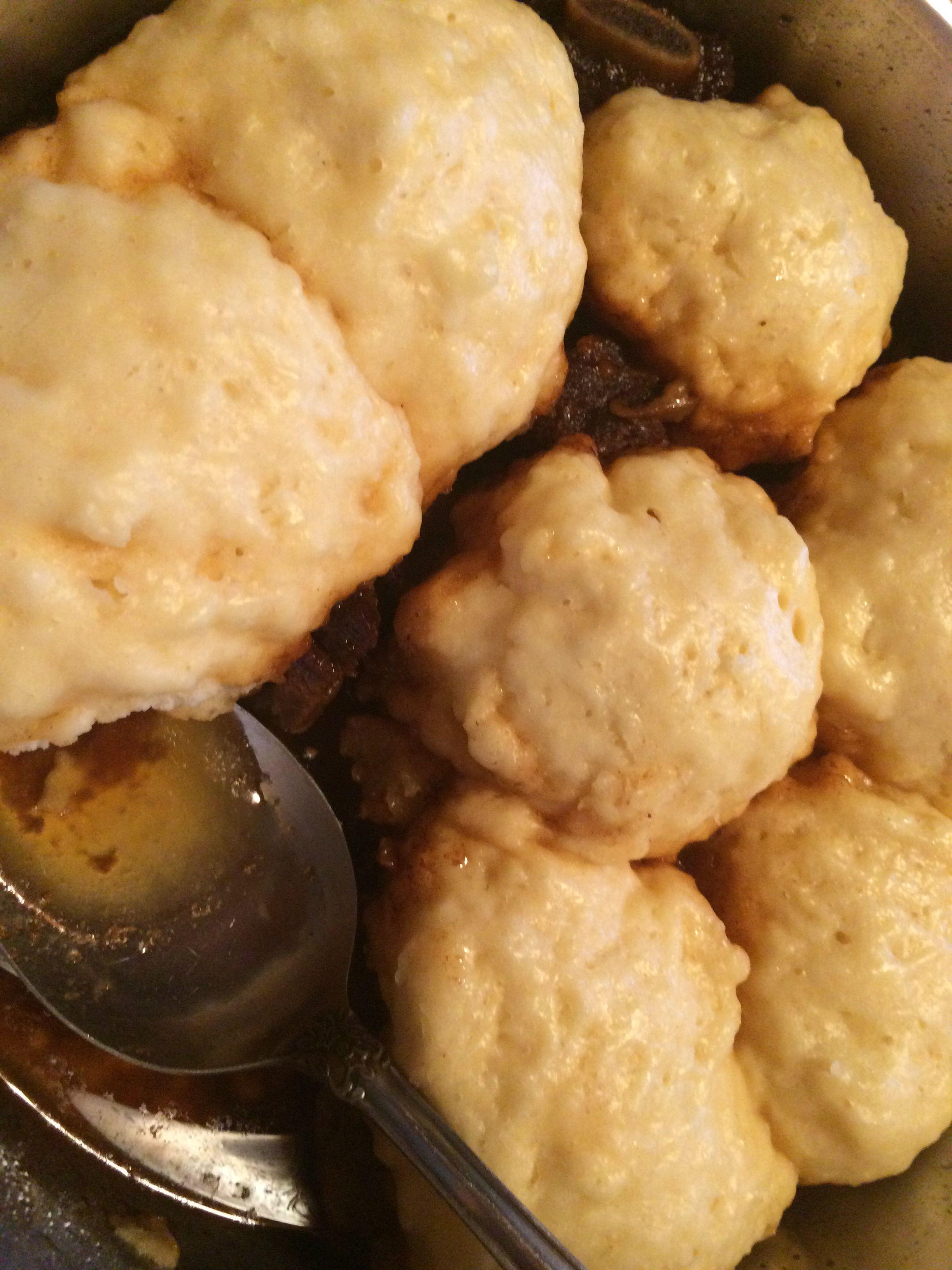 Fluffy Dumplings Recipe Food Com Recipe Dumpling Recipe Fluffy Dumpling Recipe Homemade Dumplings Recipe