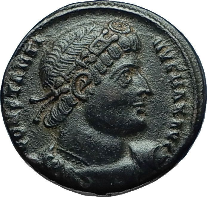 CONSTANTINE I The GREAT 330AD Authentic Ancient Roman Coin