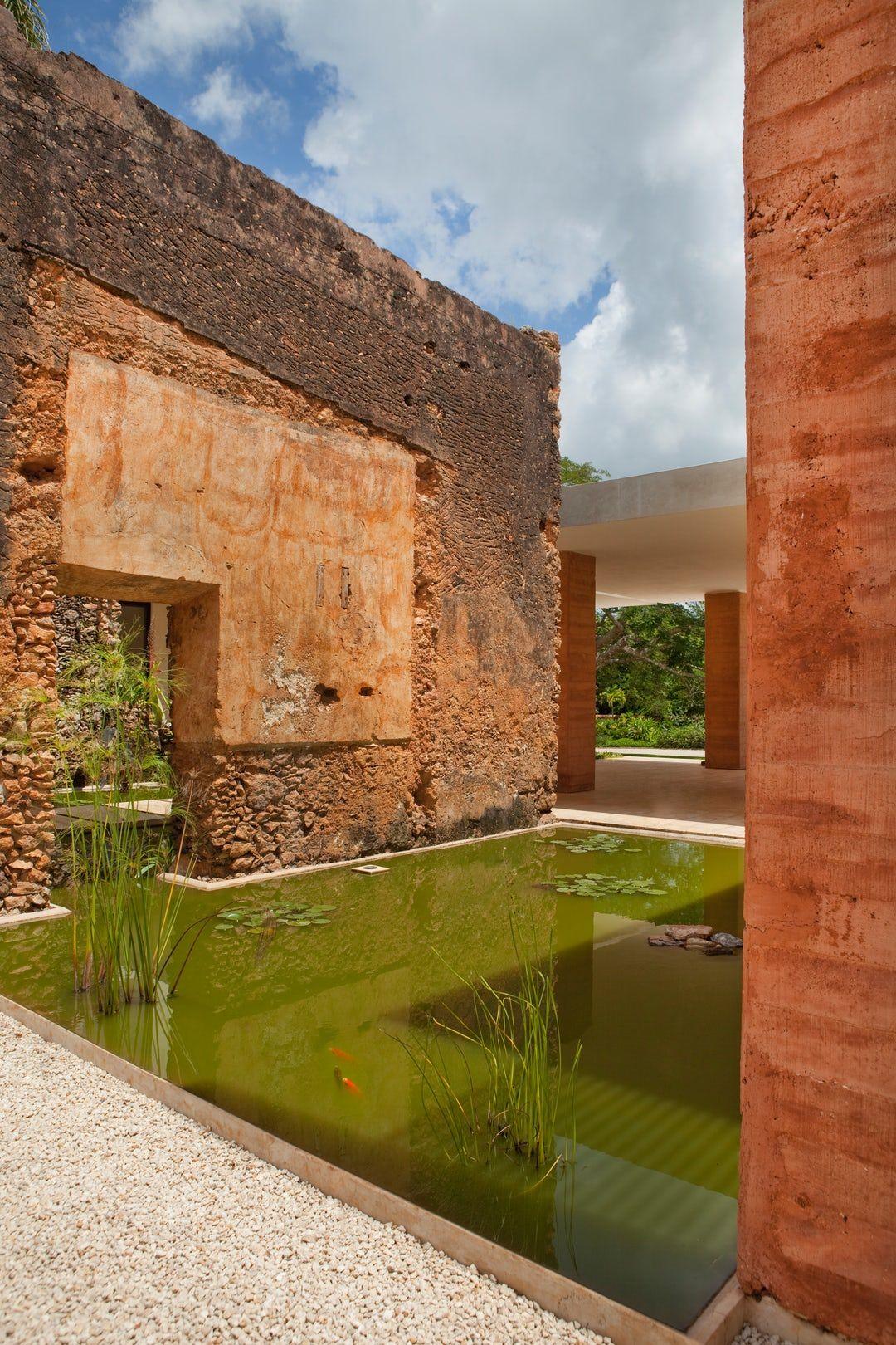 Casa De Campo Hacienda Bacoc By Reyes R Os Larra N Arquitectos  # Muebles Sequeira Plasencia