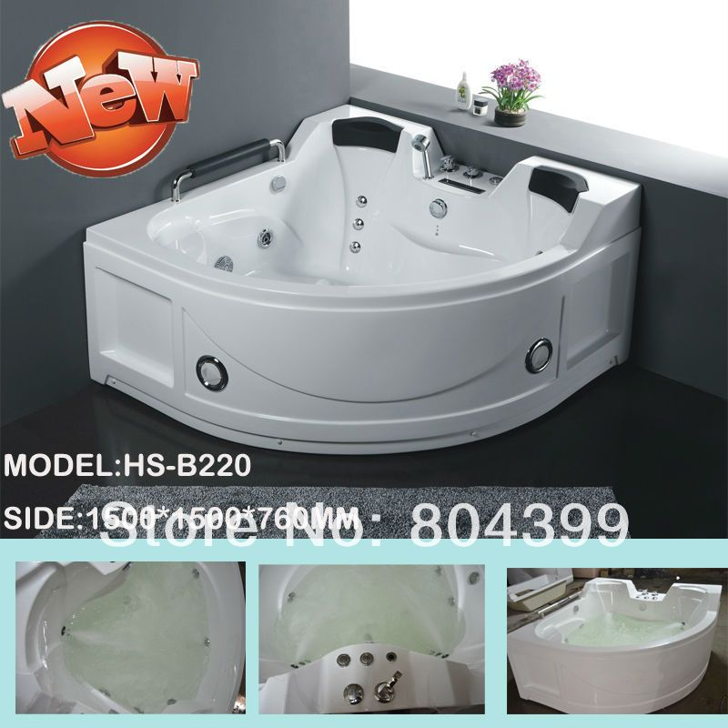 air bubble massage gemy best quality standard bath tub acrylic solid ...