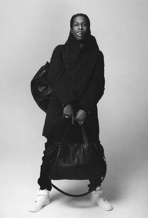 asap rocky is a great singer who has a great sense of style and this outfit  is…