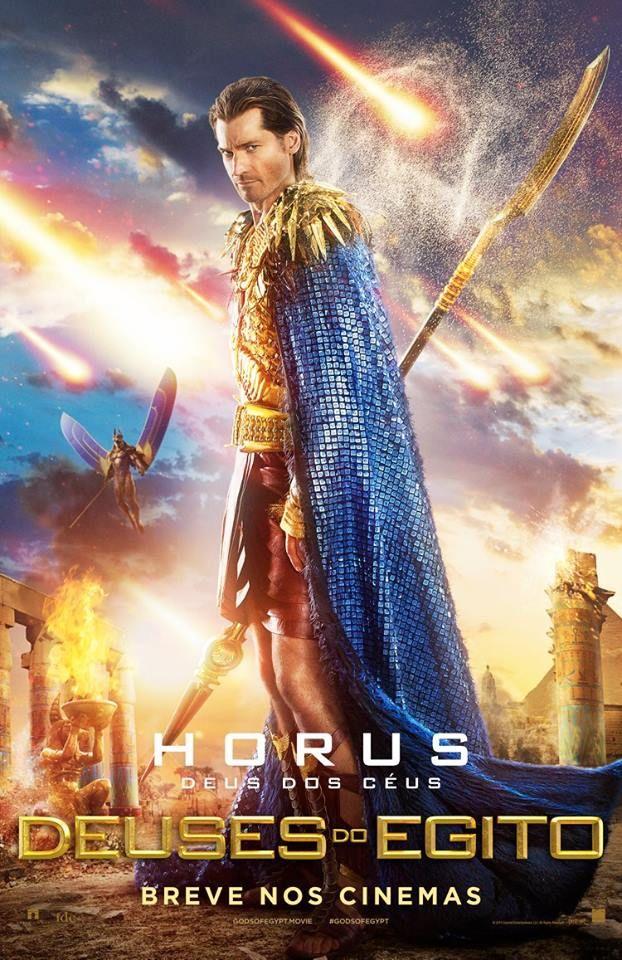 Primeiros Posteres Do Filme Deuses Do Egito Com Gerard Butler Cinema Bh Deuses Do Egito Filme Filme Deus Egito