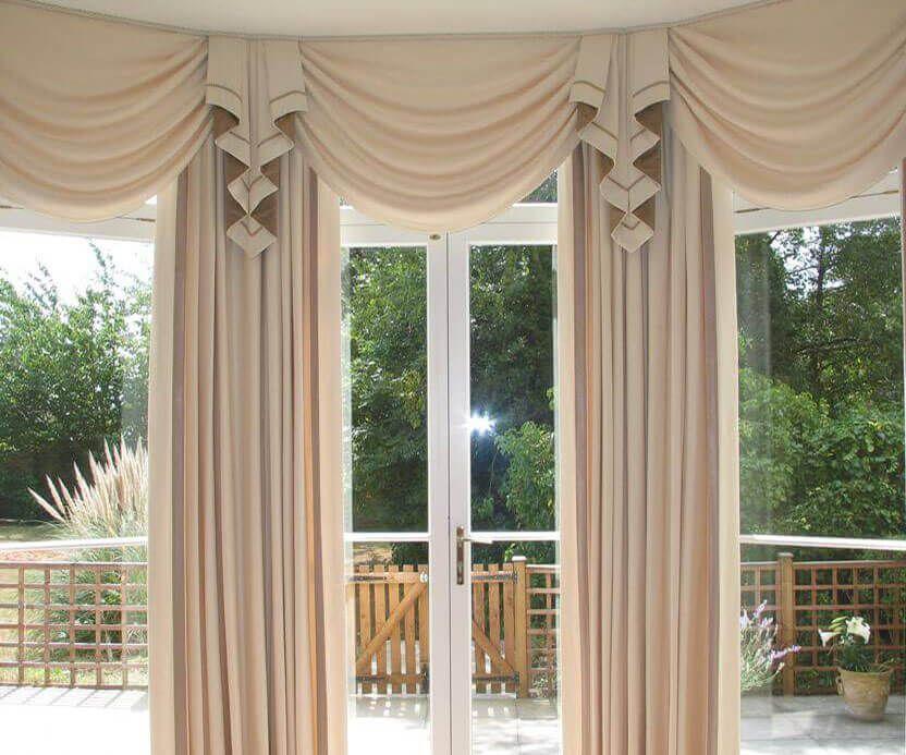 Curtain Pelmets Big Window Curtains Bay Window Curtains Window Treatments Bedroom