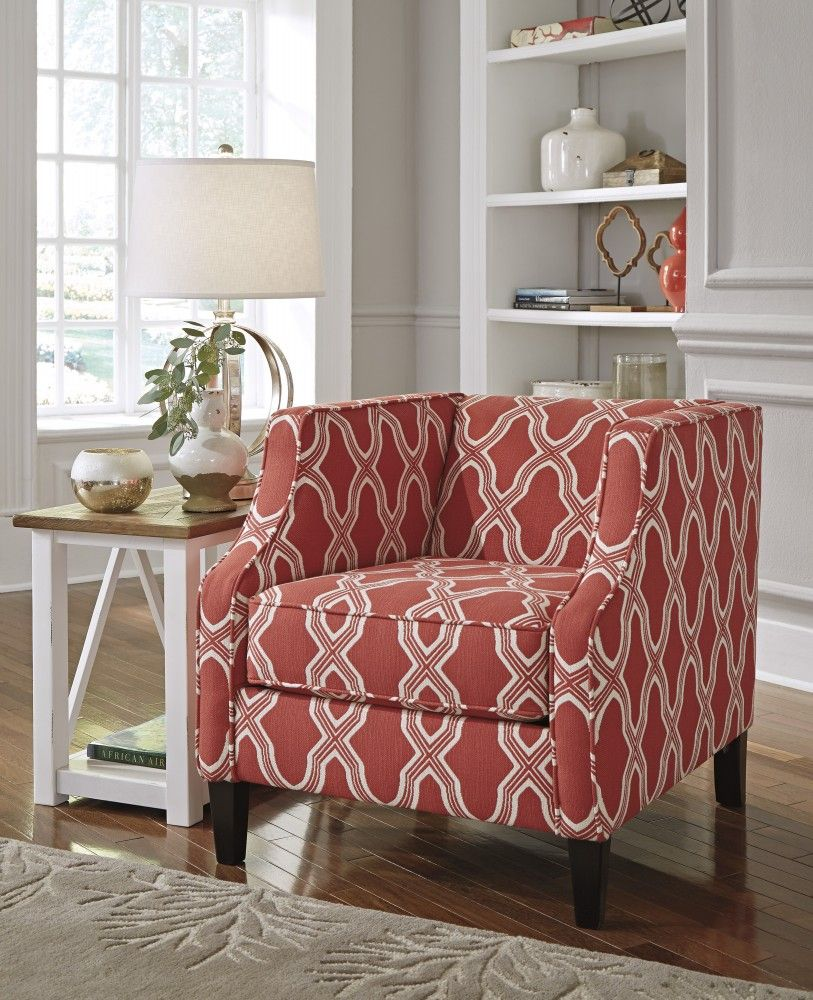 Sansimeon - Stone - Accent Chair  9  Chairs  Accent