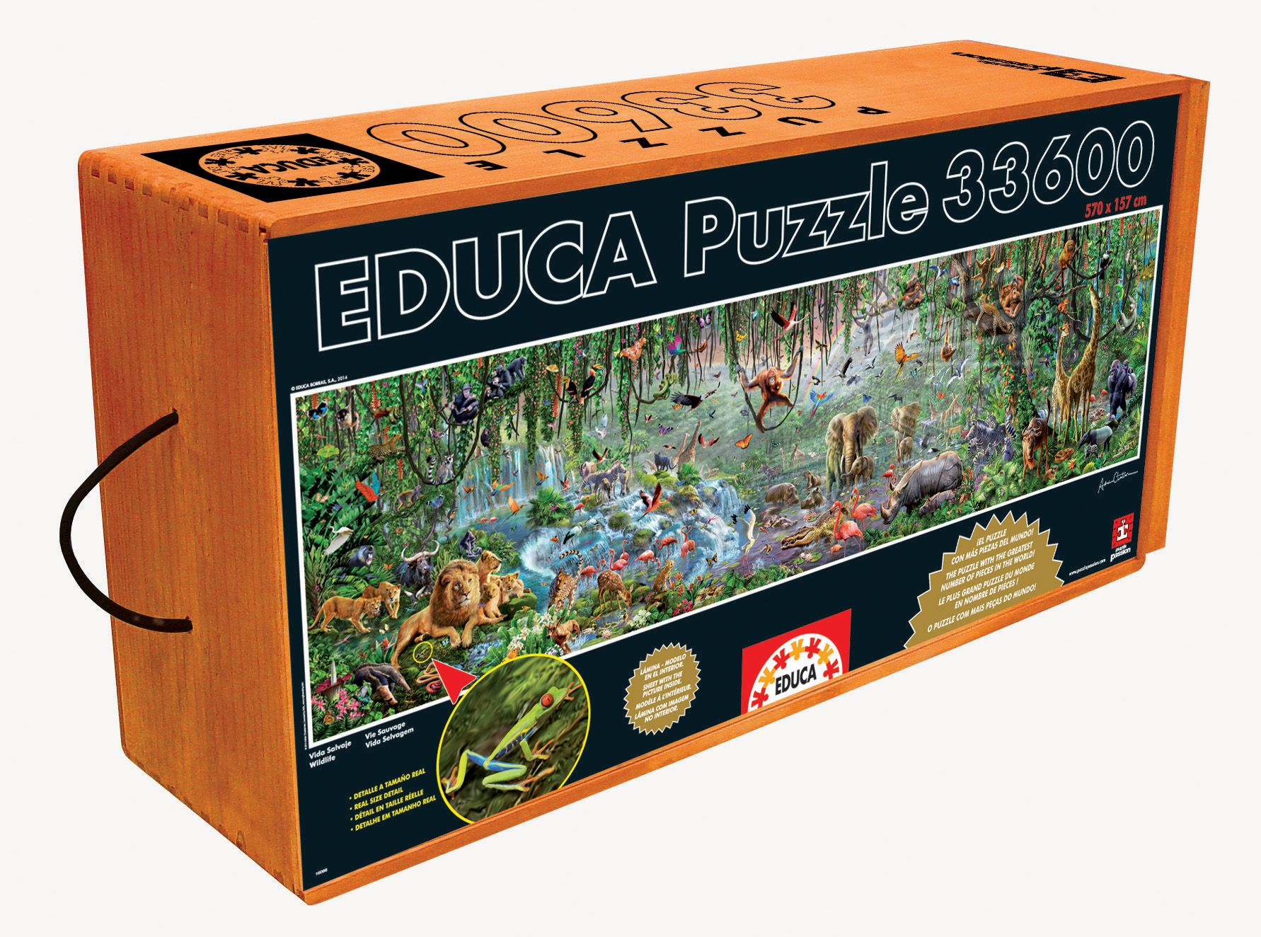 Wildlife 33 600 Pieces Puzzlewarehouse Com Jigsaw Puzzles Disney Puzzles Board Game Room