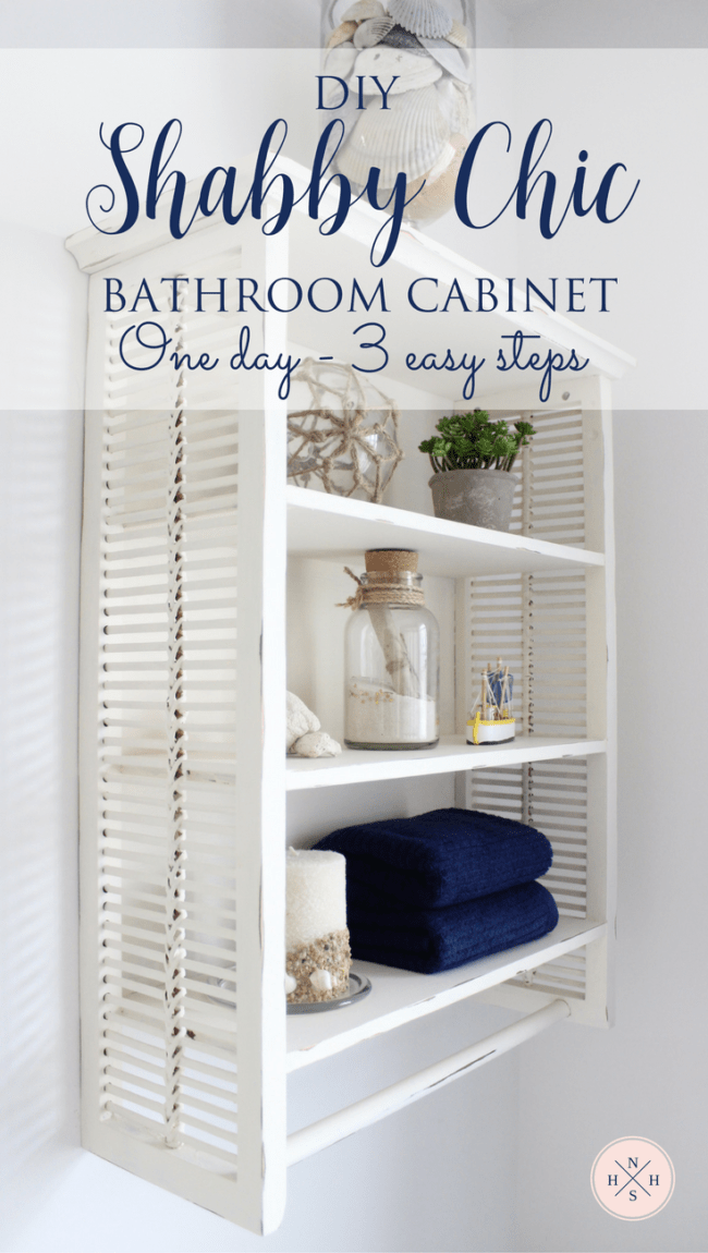 Diy Shabby Chic Bathroom Cabinet