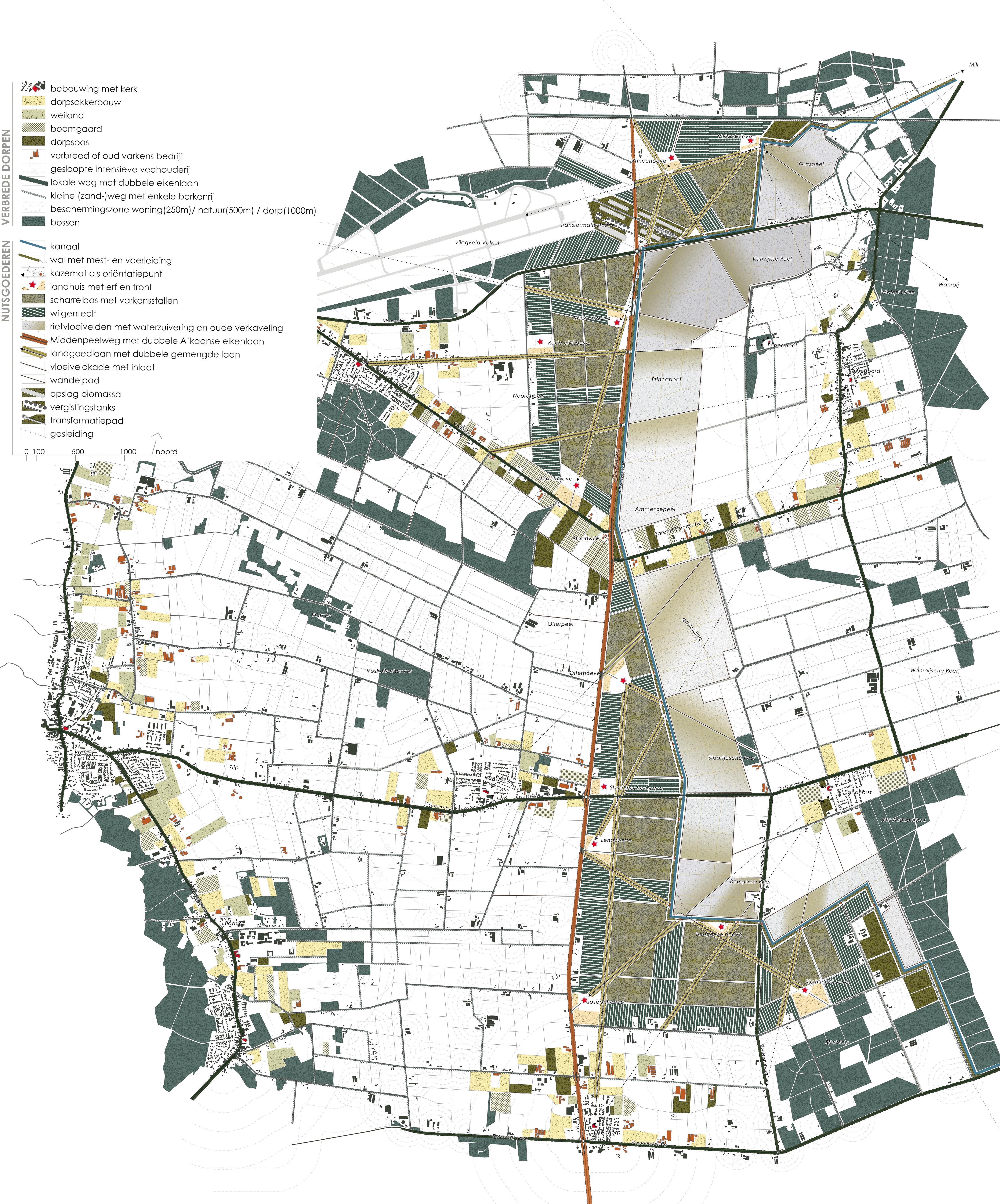 Go nuts ! Het masterplan voor de Peelhorst met de biologische varkenshouderijen langs de MiddenPeelweg en de PeelRaamStelling.  Inge Vleemingh