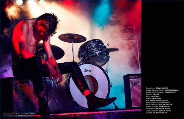 Lucky Blue Smith y The Atomics para FV Magazine Spring