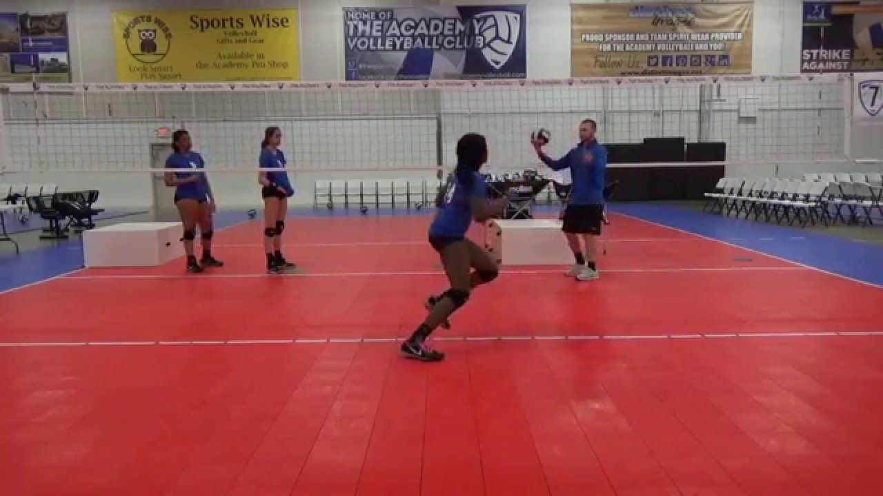 The Academy Volleyball Club Passing For Questions Regarding Training And Technique Please Contact Our D Coaching Volleyball Volleyball Drills Volleyball Clubs
