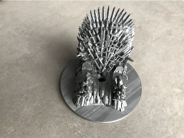 Game Of Thrones Iron Throne Phone Charger Rest By Chabachaba