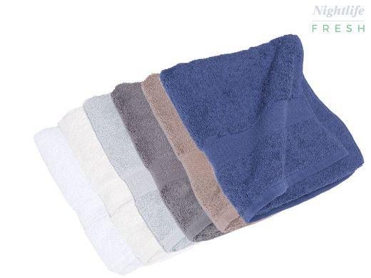 Dagaanbieding: Nightlife handdoeken 140x70 of 50x100 - 5/10-pack