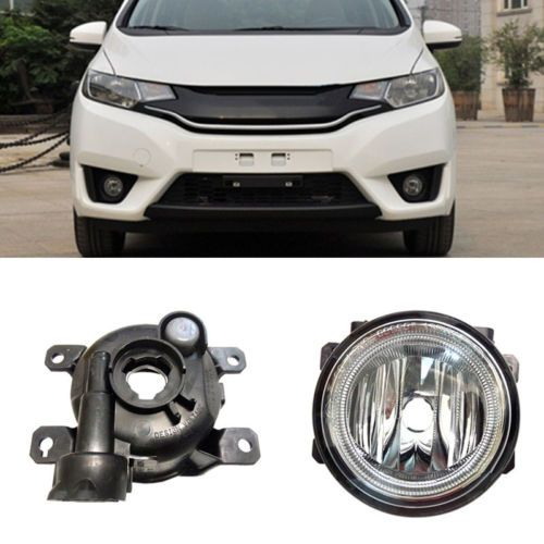 1set Front Fog Bumper Lamp Light Wiring Assembly For Honda Fit 2014 2016 Honda Fit Car Lights Lamp Light