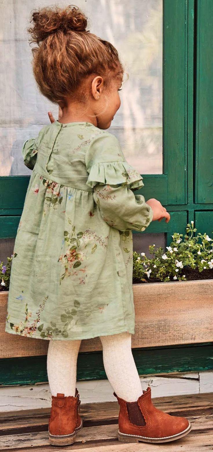 Das Must-Have des Tages: Die Casual-Kleider für Mädchen aus der NEXT-Kollektion FW'18 - Baby Decke #babydresses