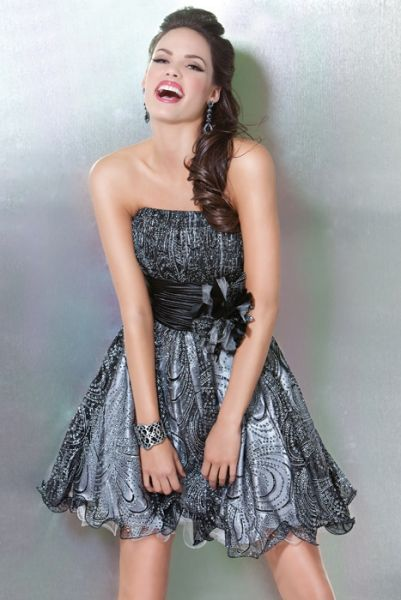 9f71685cb7 MODA SIEMPRE ELEGANTE  JOVANI - Colección Vestidos de Fiesta Cortos 2012 - 2013