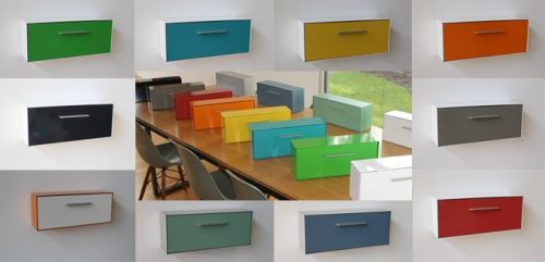Modbox New Midcentury Modern Wall Mount Mailbox On Kickstarter Now Wall Mount Mailbox Mounted Mailbox Modern Mailbox